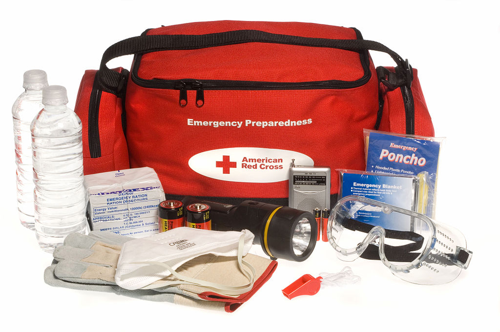 Have a handy prep bag ready with supplies