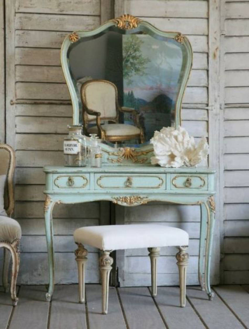 Mint madness - vanity table ideas to inspire you!