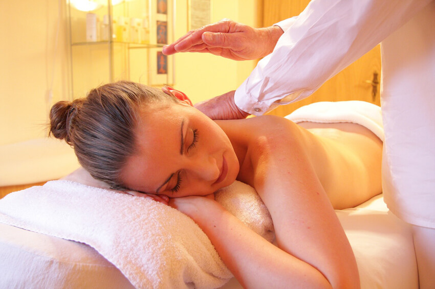 Schedule a massage for your mom because she deserves it!