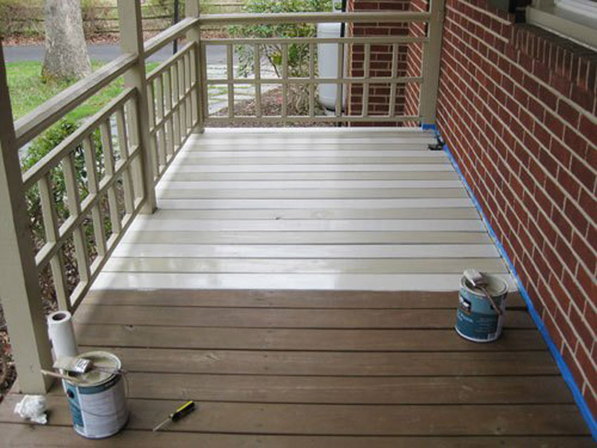 Follow these tips for a better DIY porch paint job.
