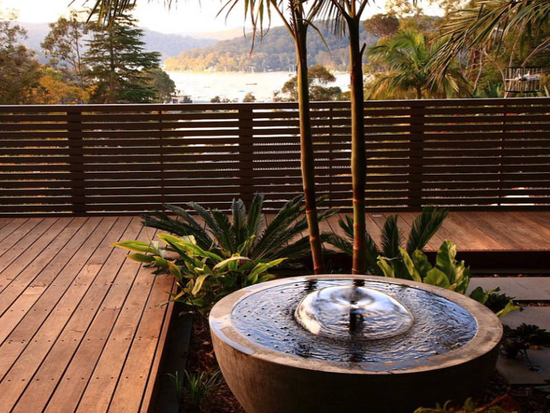 This makes your deck look classier. Source: Freshome