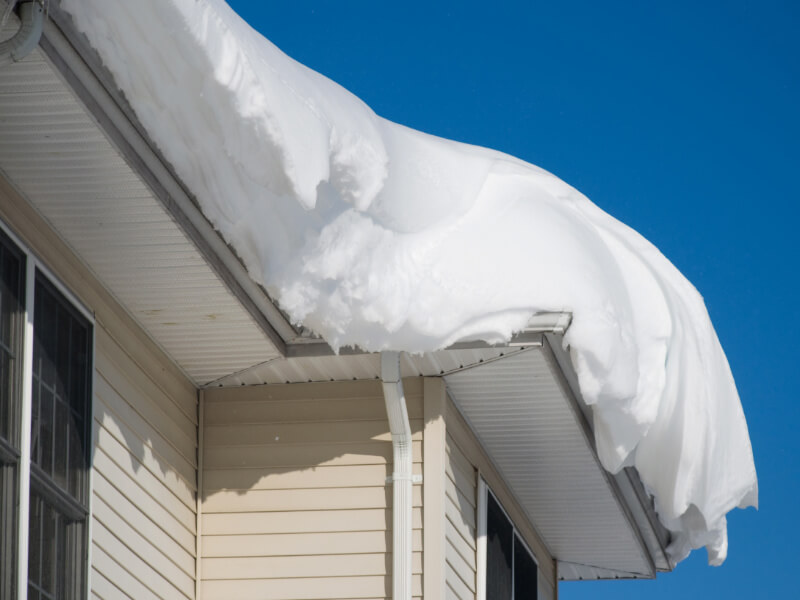 How Much Snow Can a Roof Hold?