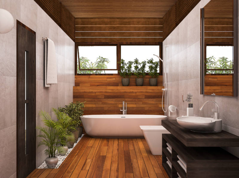 7 Dreamy Spa-Inspired Bathroom Designs