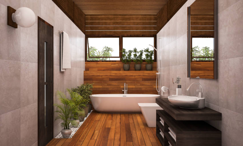 Add plants and wooden features to get this look. Source: Foro Twilight