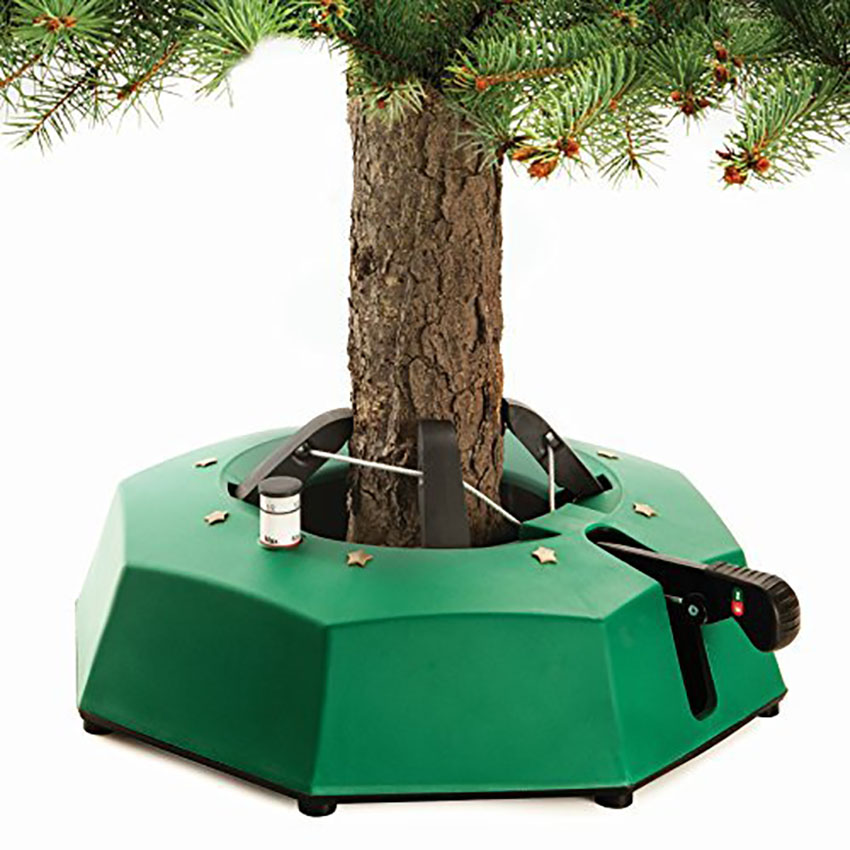 Tree Stand Decorating