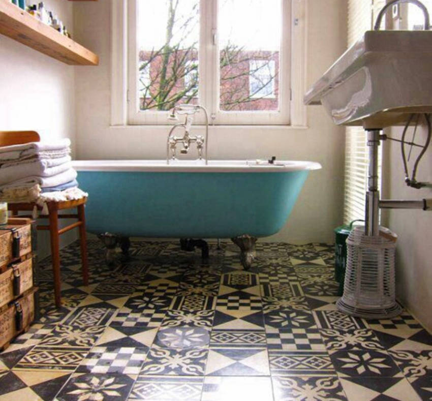 Mixing and matching tiles works wonders!