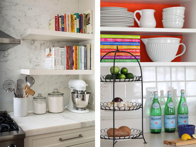 6 Tips for Styling Open Kitchen Shelving