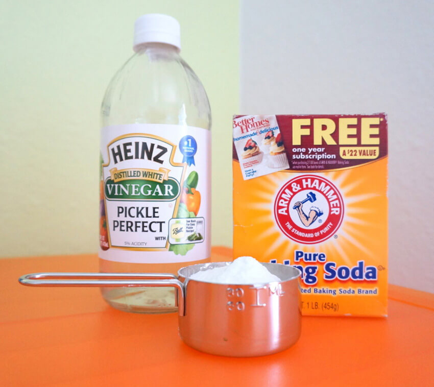 Using baking soda and vinegar is another method to unclog a shower drain.