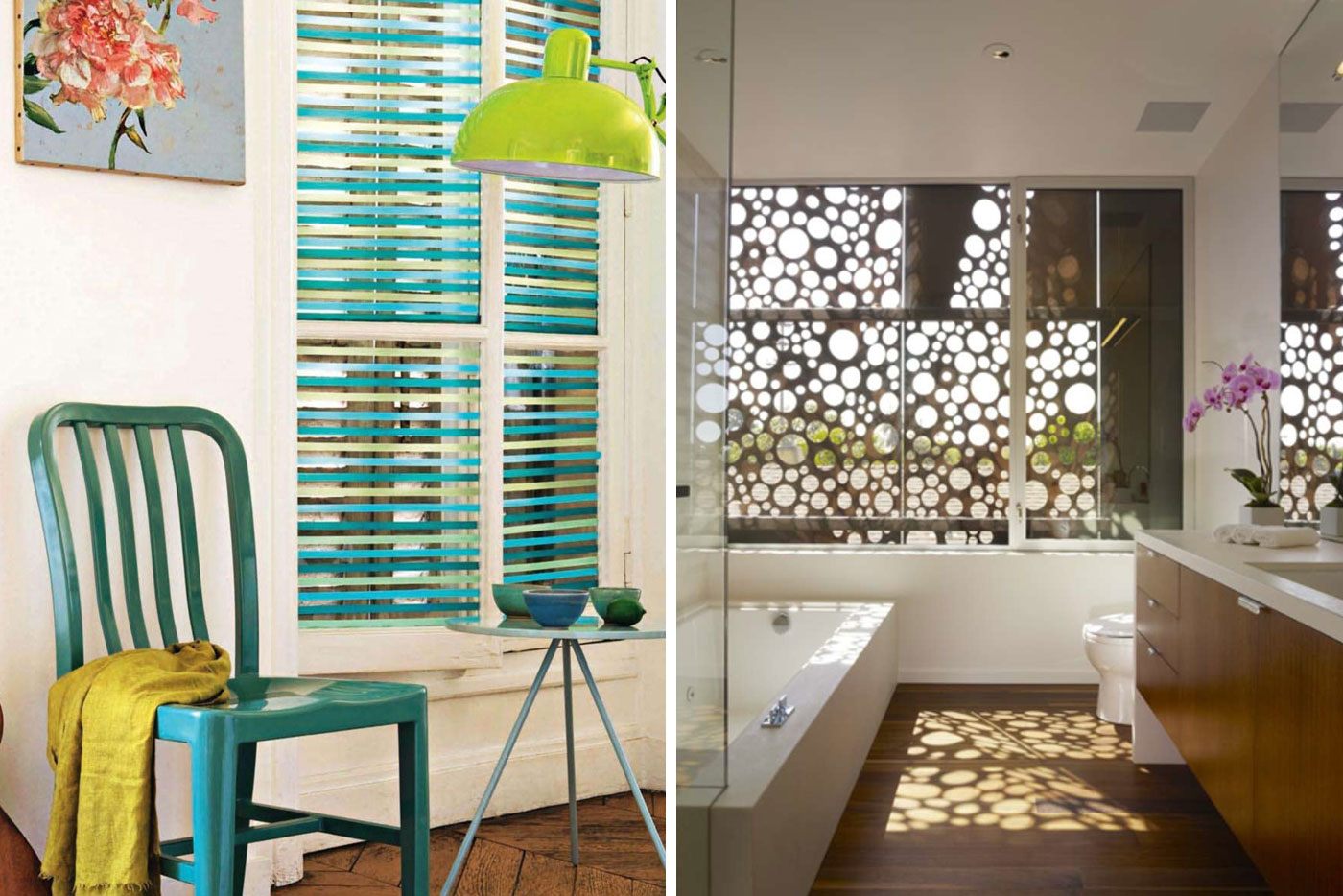 http://www.surroundyourself.com/decor/10-alternative-window-treatments/