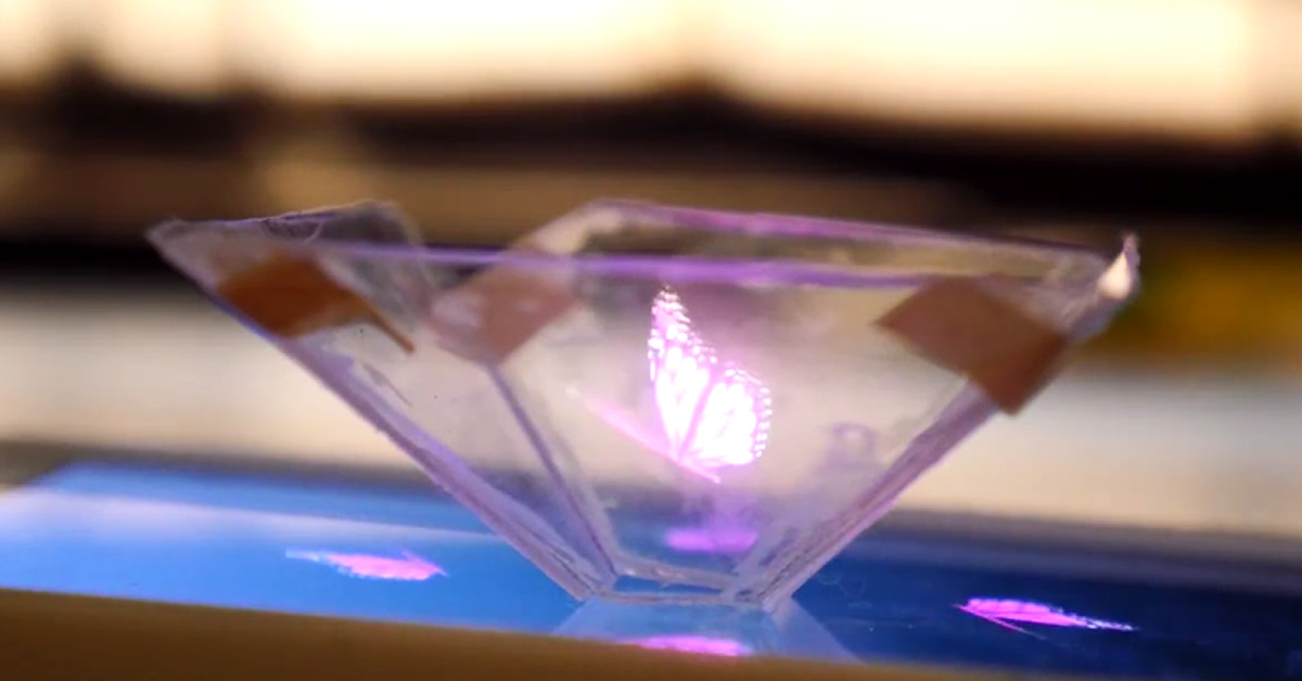 How to Make 3D Holograms With Your Smartphone