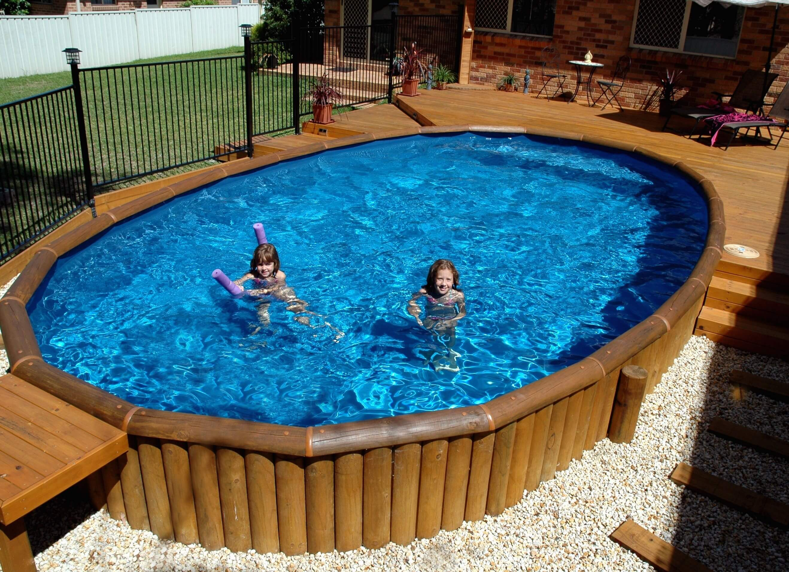 Relax and enjoy your new pool