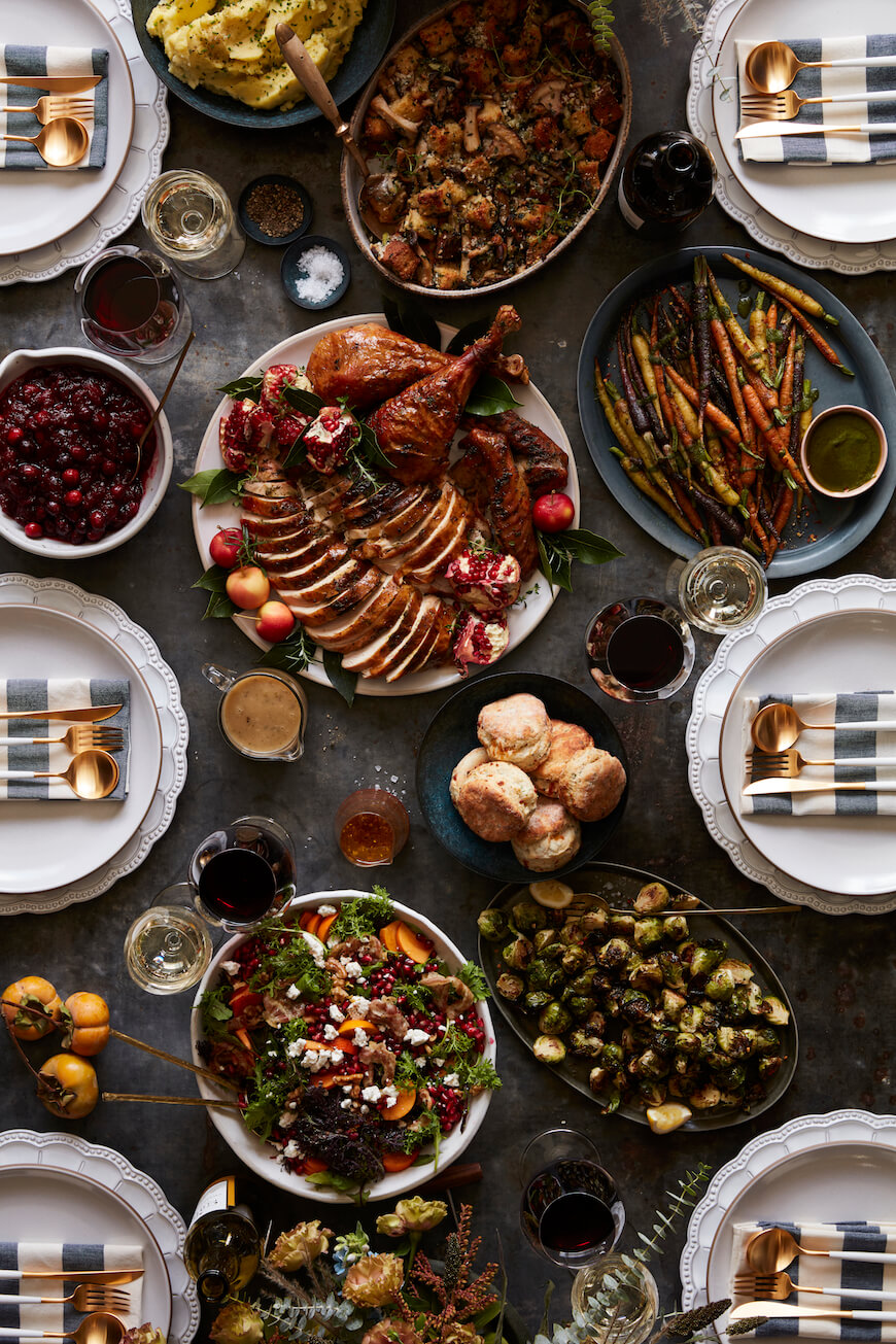 Everything's coming up Thanksgiving