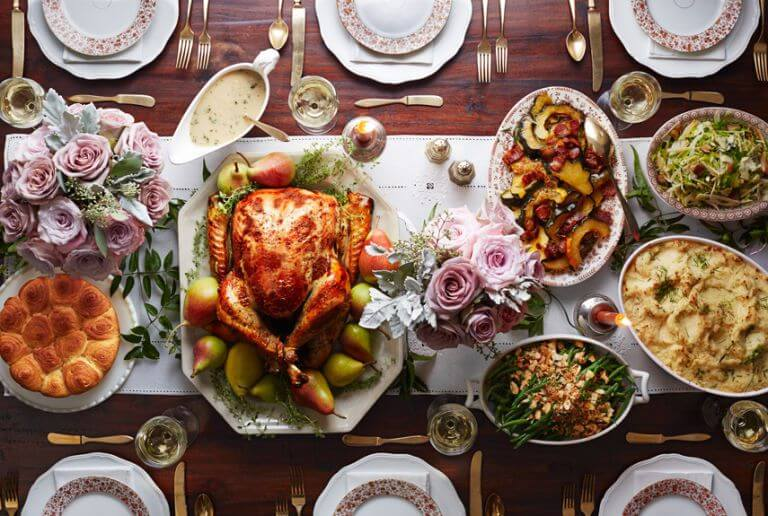 Prep the table for Thanksgiving